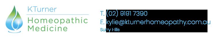 Kylie Turner Homeopathy